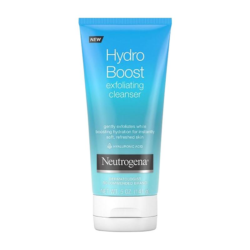 Sữa rửa mặt Neutrogena Hydro Boost Exfoliating Cleanser 141g của Mỹ