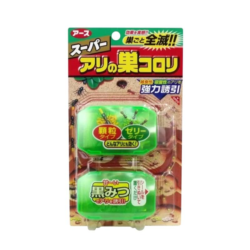 Bộ 2 hộp thuốc Diệt Kiến Super Arinosu Koroki Của Nhật