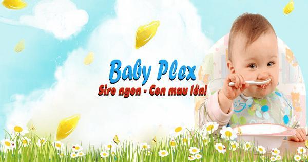 BabyPlex là thuốc gì? Có dùng cho trẻ sơ sinh được không?