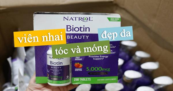 Nên uống Biotin trong bao lâu? Trước hay sau bữa ăn?