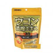 Tinh bột nghệ giải rượu Nhật Bản Ukon Orihiro 20 gói/túi