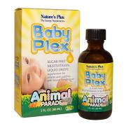Vitamin cho bé Natures Plus Baby Plex Animal Parad...