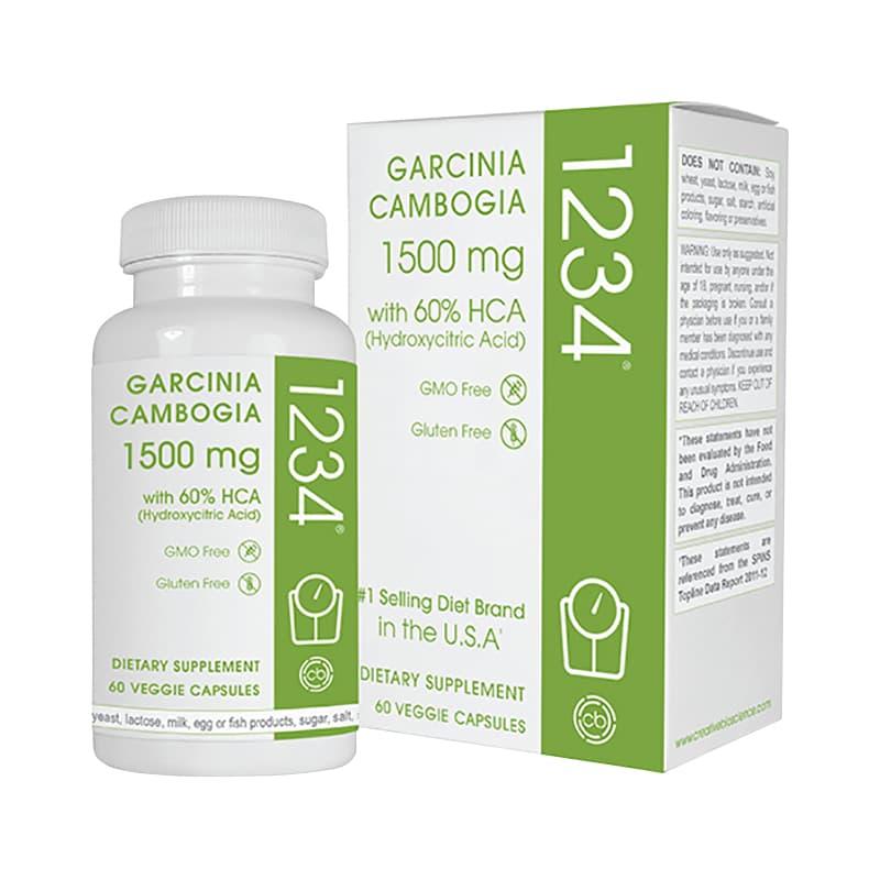 Garcinia Cambogia 1234 của Mỹ - Thuốc giảm cân tốt nhất