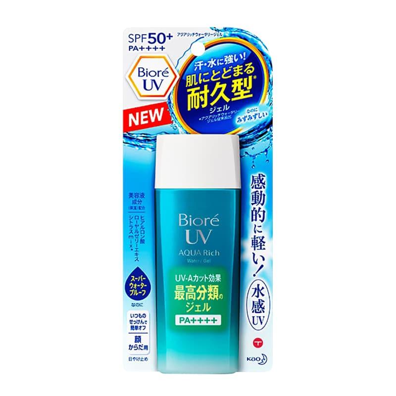 Kem chống nắng biore uv aqua rich watery gel spf50+ pa++++ 2018