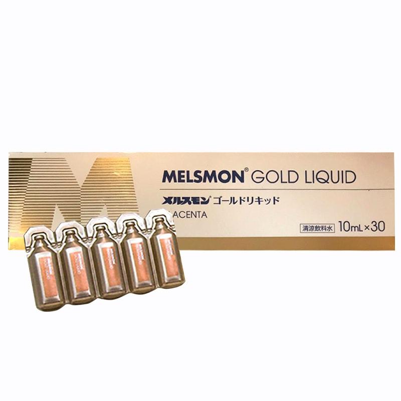 Nước uống nhau thai Melsmon Gold Liquid Nhật Bản