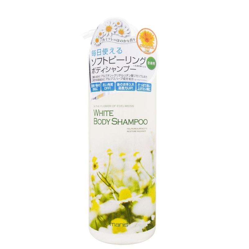 Sữa tắm trắng da Manis White Body Shampoo 450ml Nhật Bản