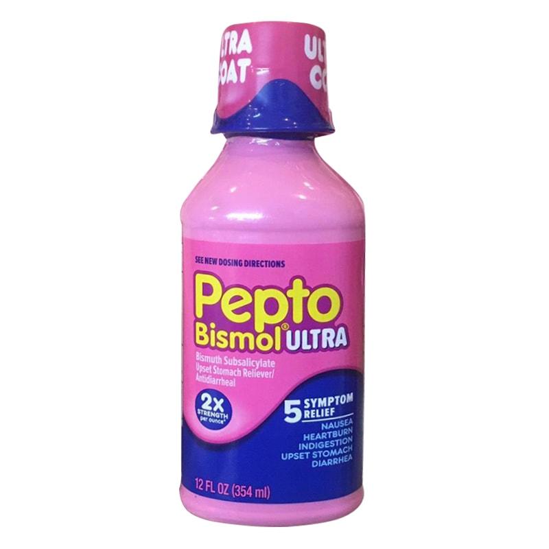 Thuốc tiêu chảy: Pepto Bismol Ultra 354ml