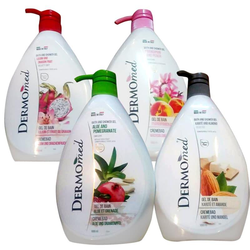 Sữa tắm dưỡng da Dermomed Bath & Shower Gel 1000ml của Ý