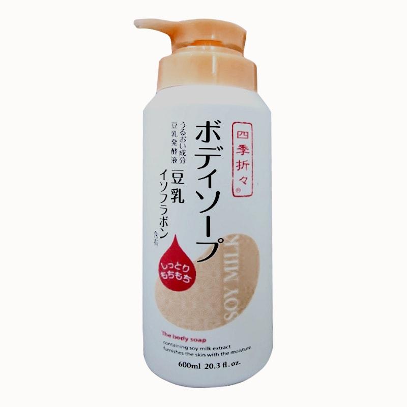 Sữa tắm dưỡng ẩm sữa đậu nành Soy Milk The Body Soap 600ml