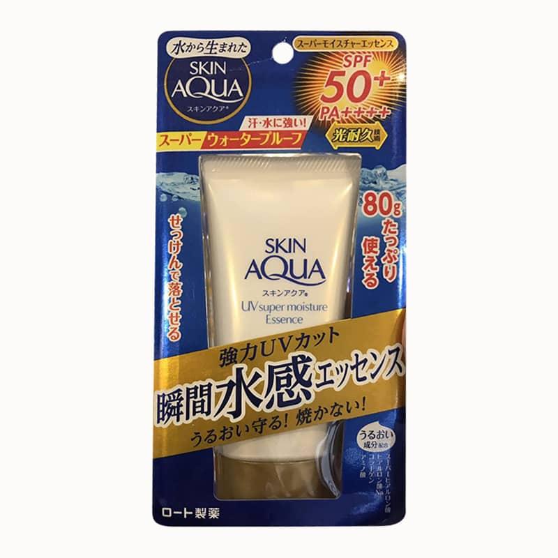 Kem chống nắng Rohto Skin Aqua UV Super Moisture Essence 80g