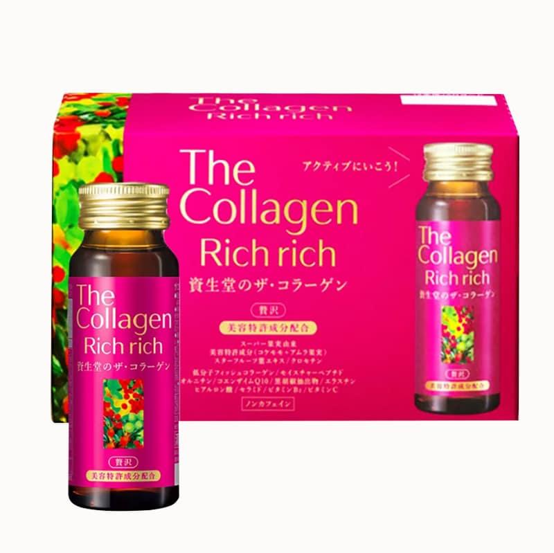The Collagen Rich Rich Shiseido, Collagen dạng nước của Nhật