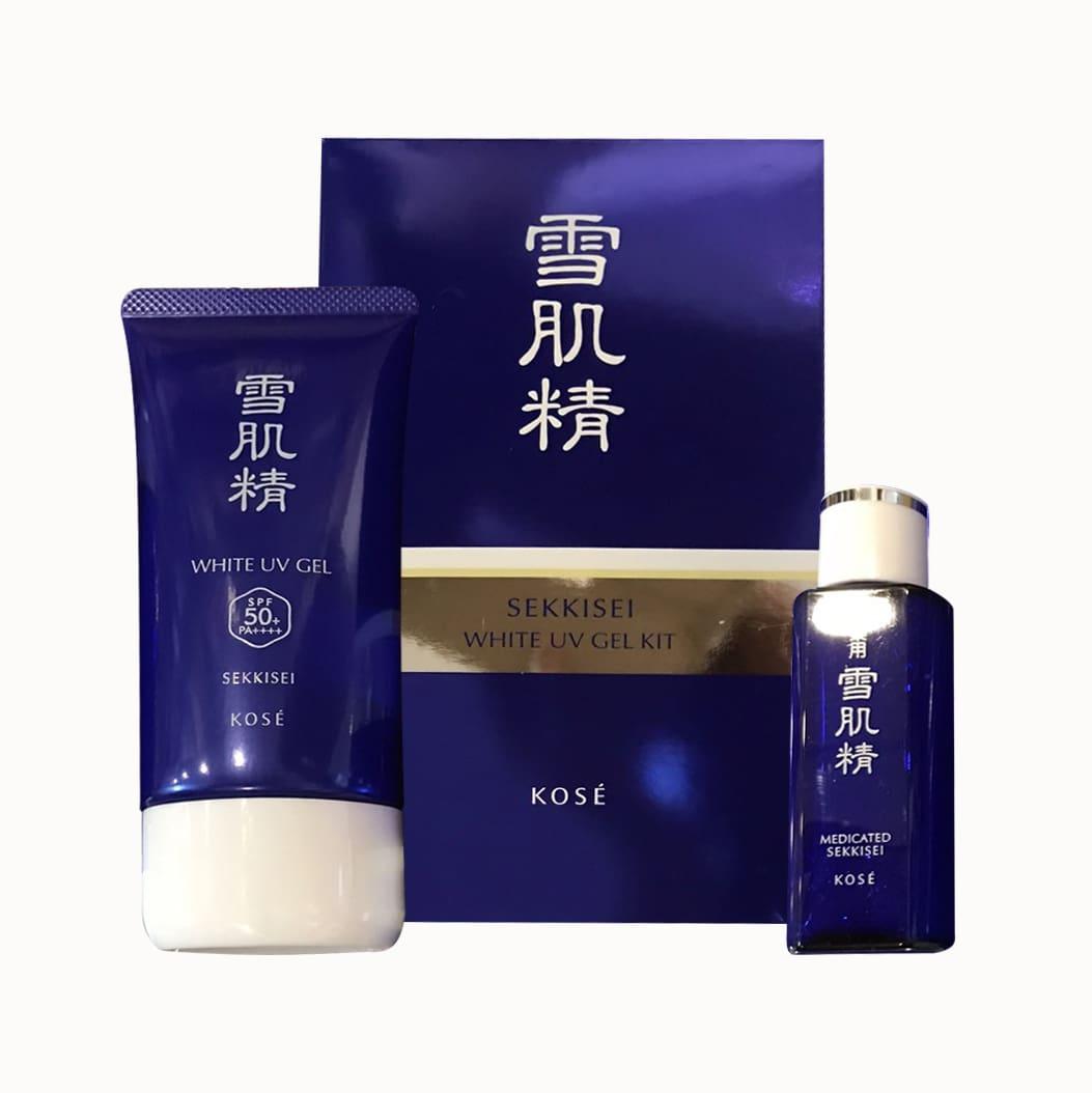Kem chống nắng Kose Sekkisei White UV Gel 80g mẫu mới 2018