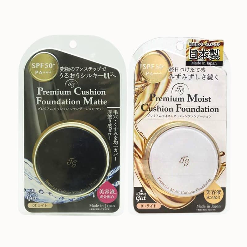 Phấn nước Tiara Girl Premium Cushion Foundation Nhật Bản