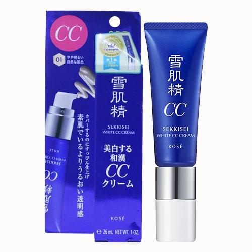 Kem trang điểm đa năng Kose Sekkisei White CC Cream của Nhật