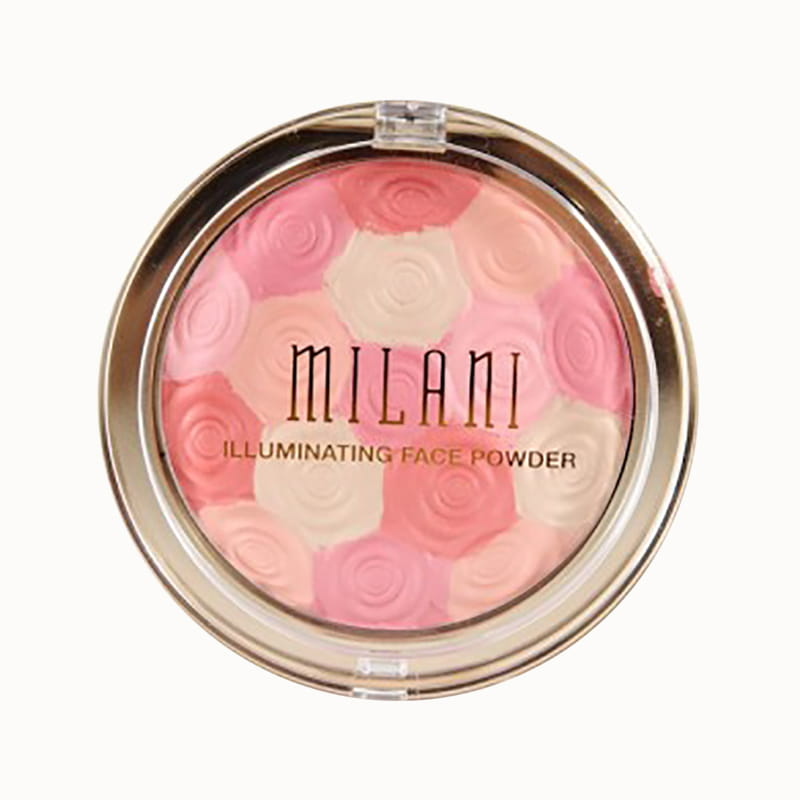 Phấn má hồng kiêm highlight Milani Illuminating Face Powder