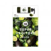 Mặt nạ thải độc rau củ Super Vegitoks Mask 6 miếng Hàn Quốc