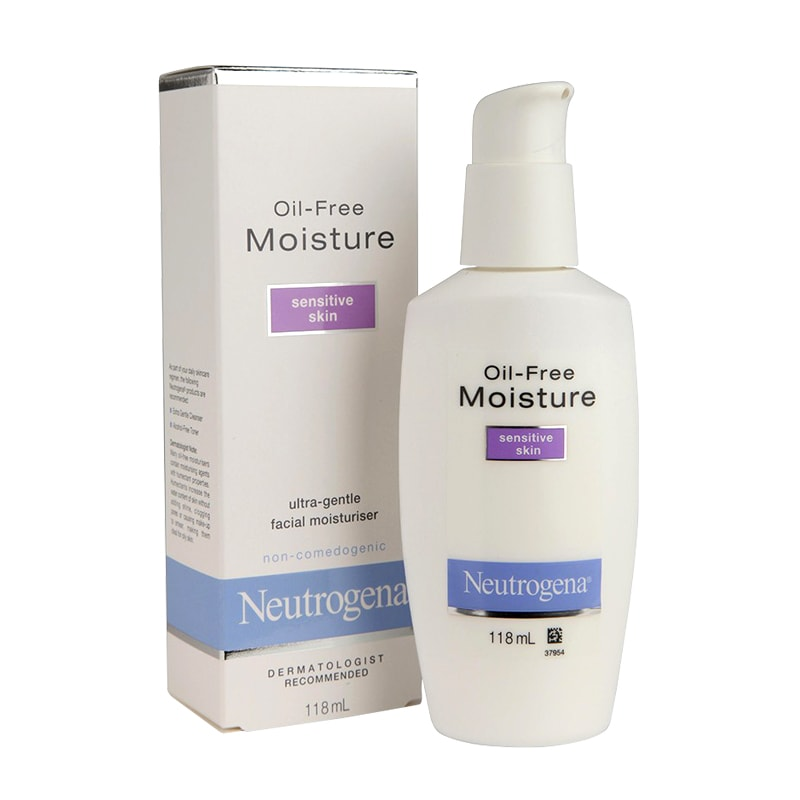 Kem dưỡng ẩm Neutrogena Oil-Free Moisture Sensitive Skin