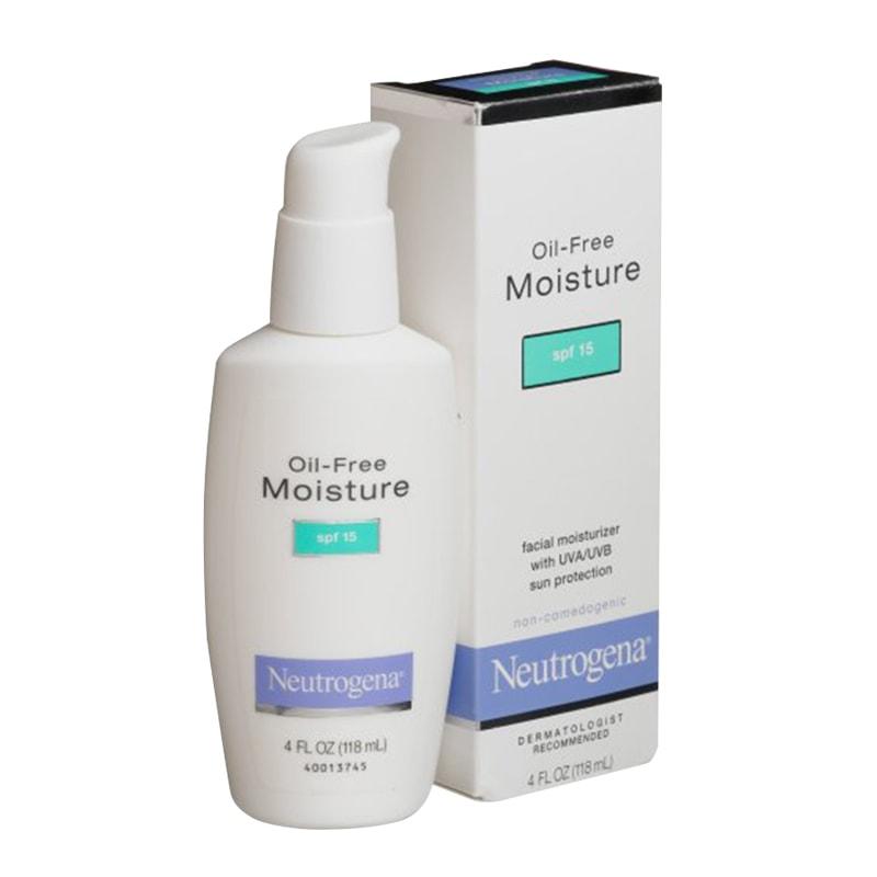 Kem dưỡng ẩm Neutrogena Oil-Free Moisture SPF15 của Mỹ 115ml