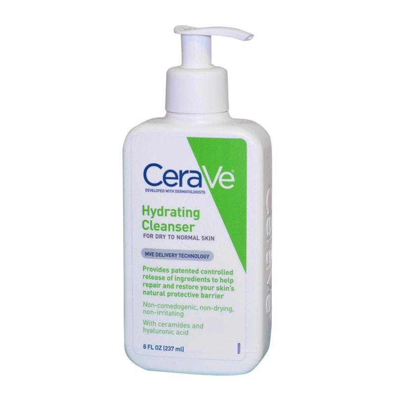 Sữa rửa mặt Cerave Hydrating Cleanser 237ml của Mỹ