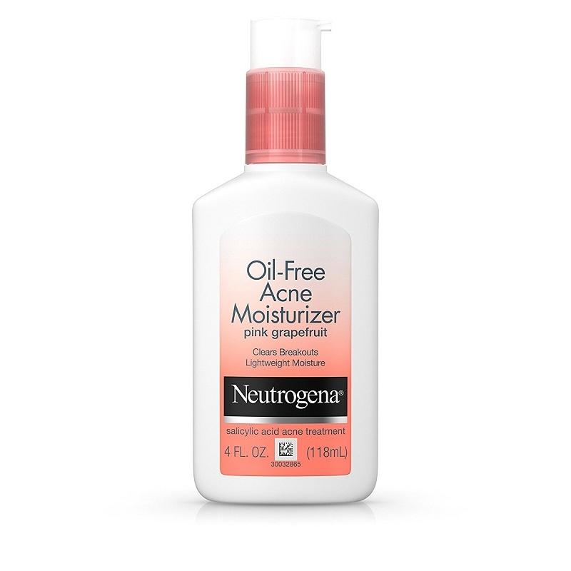 Kem dưỡng Neutrogena Oil Free Acne Moisturizer Pink Grapefruit