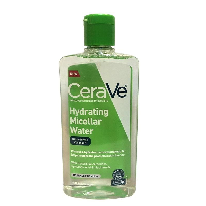 Nước tẩy trang Cerave Hydrating Micellar Water 296ml của Mỹ
