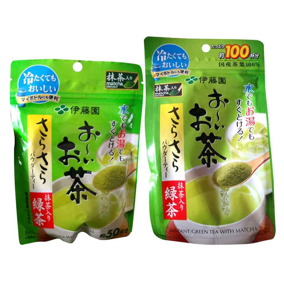Bột trà xanh Matcha Instant Green Tea của Nhật Bản