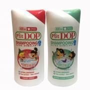 Dầu gội xả 2 in 1 cho bé P'Tit Dop Shampooing 400ml của Pháp