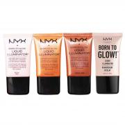 Kem lót ánh nhũ NYX Born To Glow Liquid Illuminator 18ml