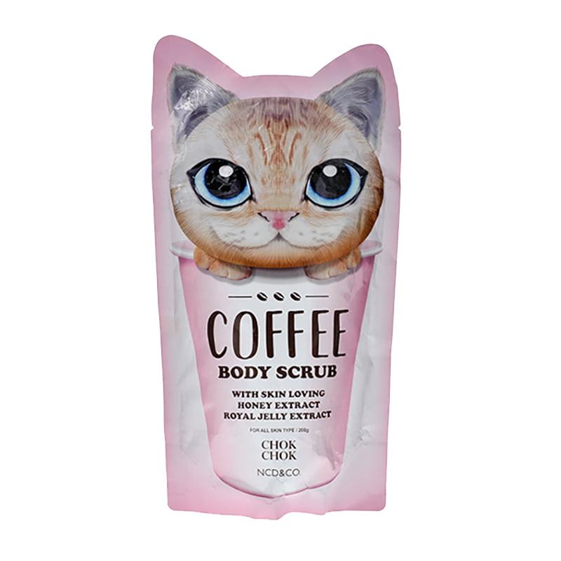 Tẩy tế bào chết toàn thân Chok Chok Coffee Body Scrub 200g