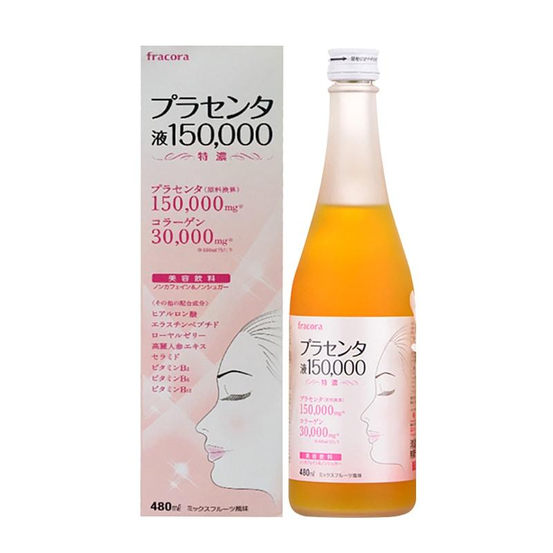 Nước uống nhau thai cừu fracora placenta 150.000mg của Nhật Bản