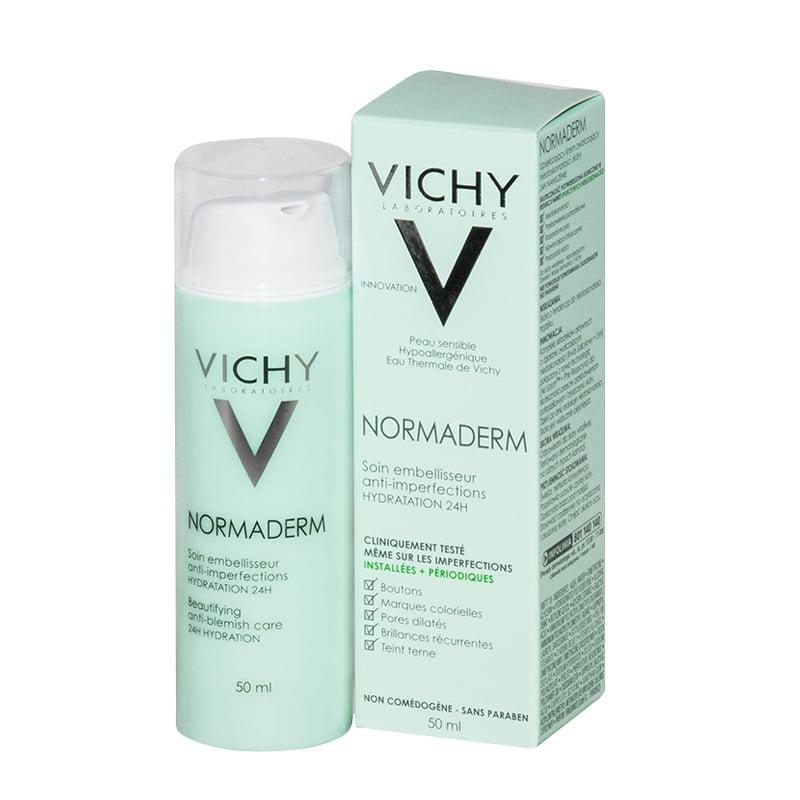 Kem dưỡng ẩm cho da mụn Vichy Normaderm 50ml của Pháp