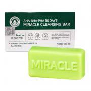 Xà phòng trị mụn Miracle AHA BHA PHA 30 Days Bar Hàn Quốc