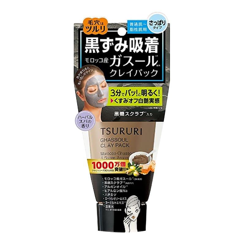 Mặt nạ bùn khoáng Tsururi Ghassoul Clay Pack 150g của Nhật