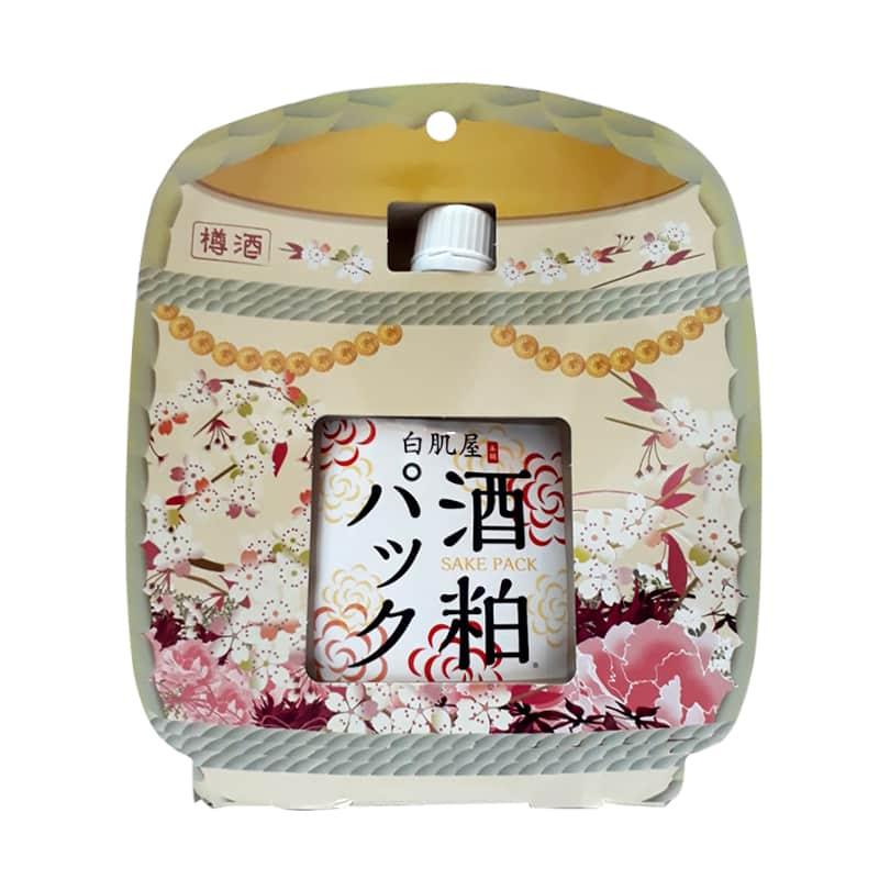Mặt nạ bã rượu Sake Kasu Face Pack 120g Nhật Bản ủ trắng da