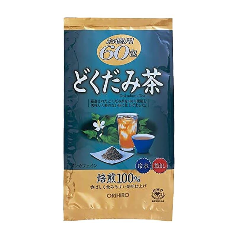 Trà diếp cá Orihiro 60 gói của Nhật Bản - Thanh lọc, thải độc