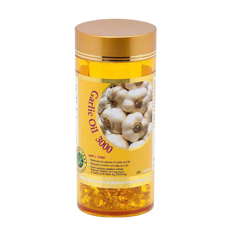 Tinh dầu tỏi Garlic Oil 3000mg Spring Leaf 365 viên của Úc