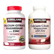 Viên uống Kirkland Calcium Citrate Magnesium and Z...