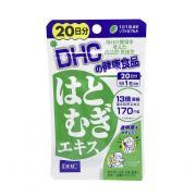 Viên uống trắng da DHC 20 ngày Coix Extract của Nhật Bản 00