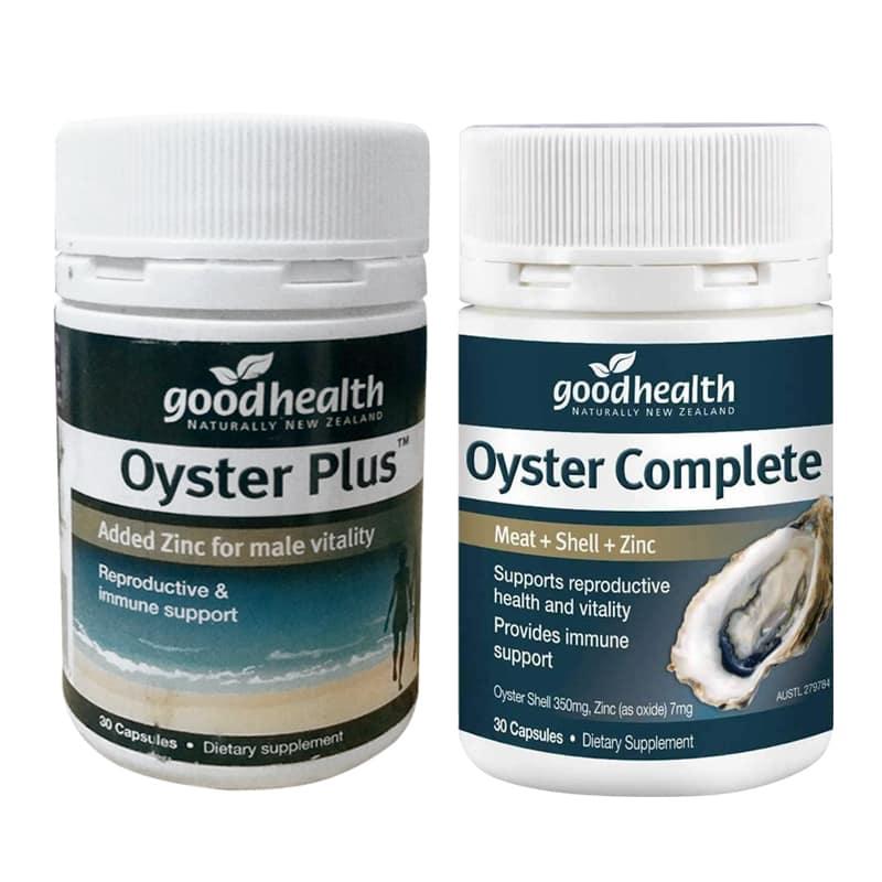 Viên uống tinh chất hàu Goodhealth Oyster Plus 30 viên