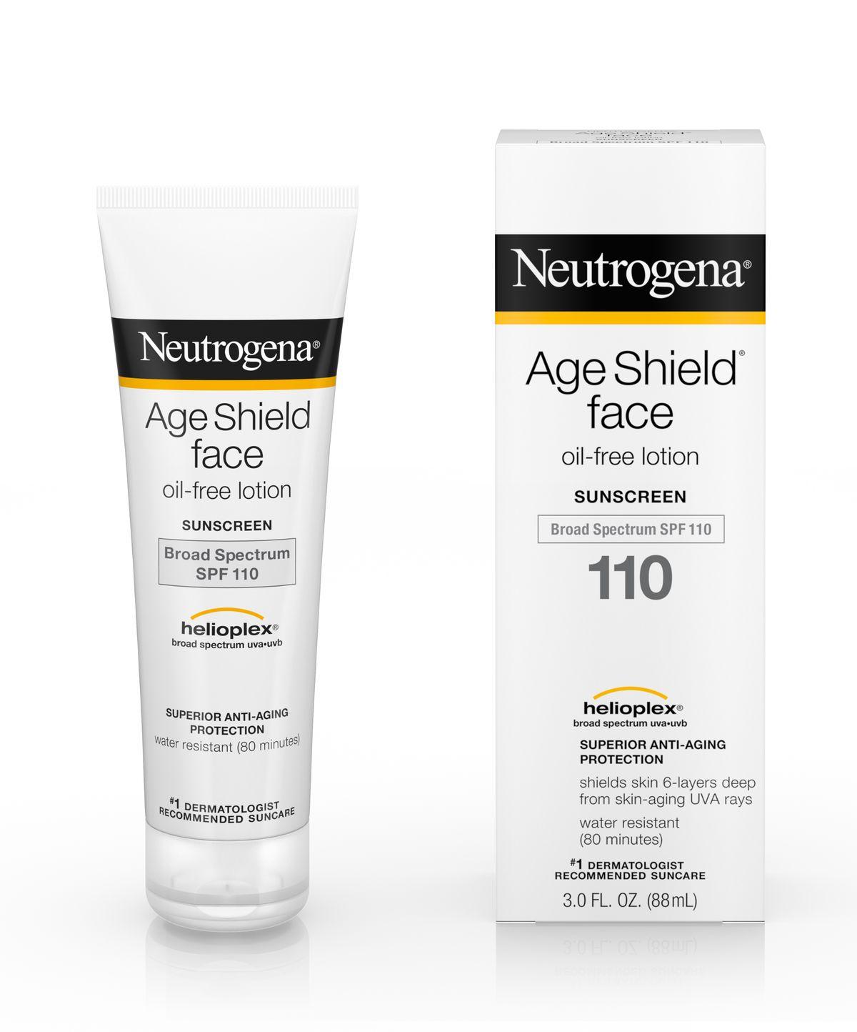Kem chống nắng Neutrogena Age Shield Face SPF 110 của Mỹ