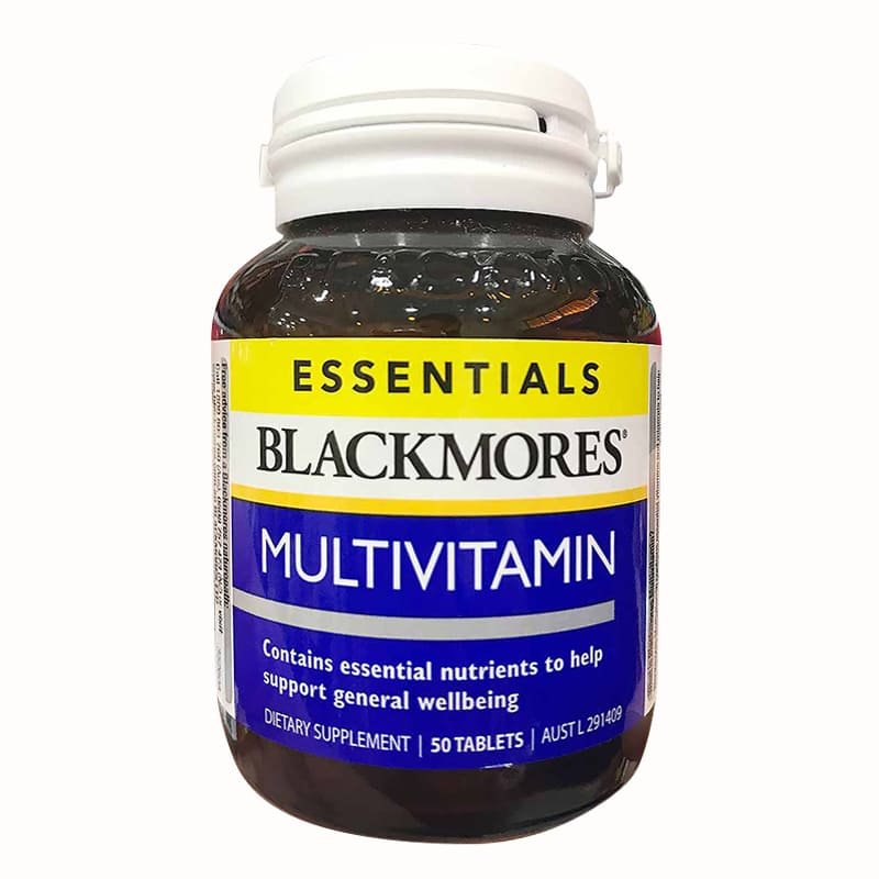 Vitamin tổng hợp Blackmores Essentials Multivitamin 50 viên