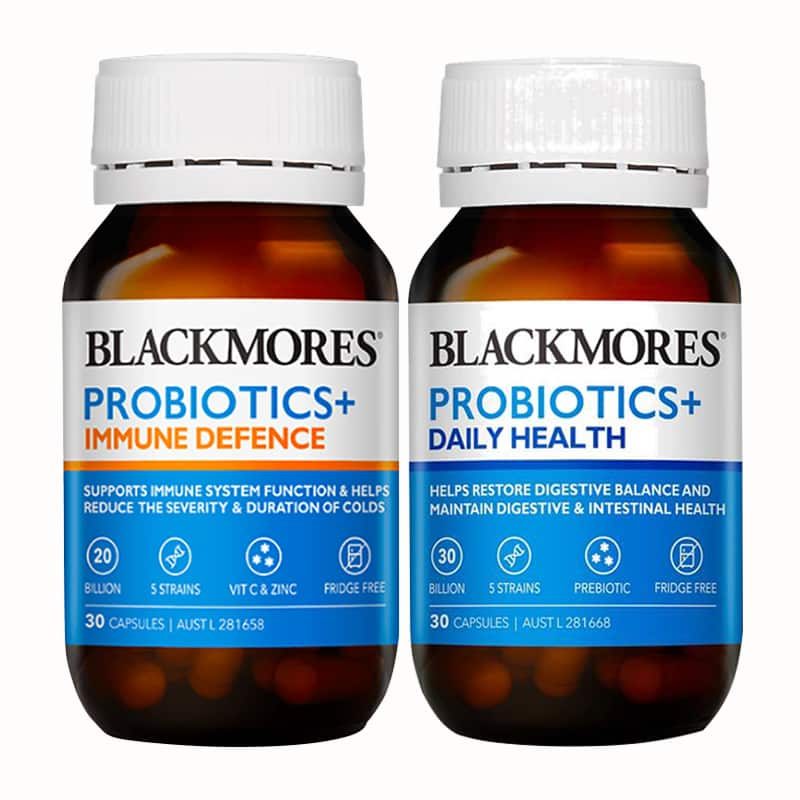 Men vi sinh Blackmores Probiotic + Immune Defence 30 viên