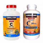 Viên uống bổ sung vitamin C 500mg Kirkland 500 viê...