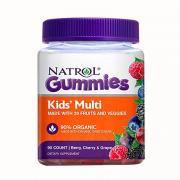 Kẹo dẻo bổ sung vitamin cho trẻ em Natrol Gummies Kids Multi