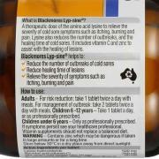 Viên uống Blackmores Lyp - Sine 30 viên - chống nhiễm trùng