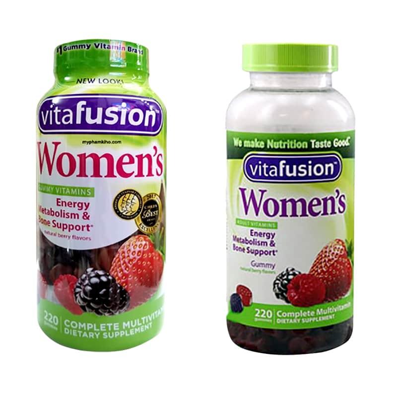 Kẹo dẻo Vitamin Vitafusion Women's Multivitamin 220 viên cho phụ nữ