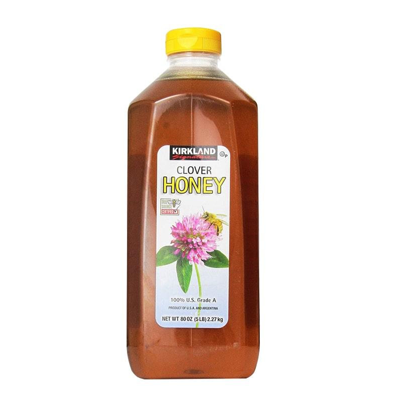 Mật ong Kirkland Clover Honey 2.27kg - Mật ong nguyên chất Mỹ