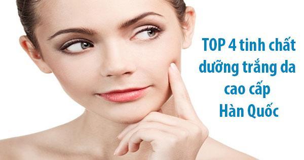 Top 4 tinh chất dưỡng trắng da cao cấp Hàn Quốc HOT nhất