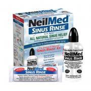 Bộ rửa mũi NeilMed Sinus Rinse bình 240ml + 50 gói muối Mỹ