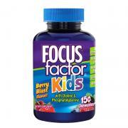 Kẹo phát triển trí não cho bé Focus Factor Kids 150 viên của Mỹ
